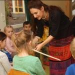 Das Lauschmobil des Beethoven Orchesters zu Gast in unserer Kita